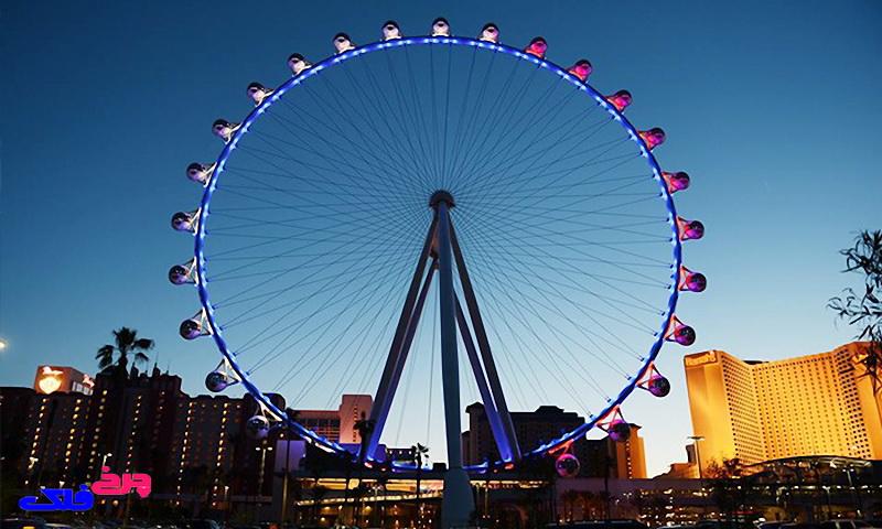 بزرگترین چرخ و فلک دنیا