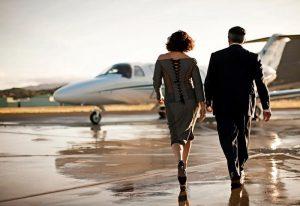 چهره های مشهور و سفر با هواپیمای شخصی