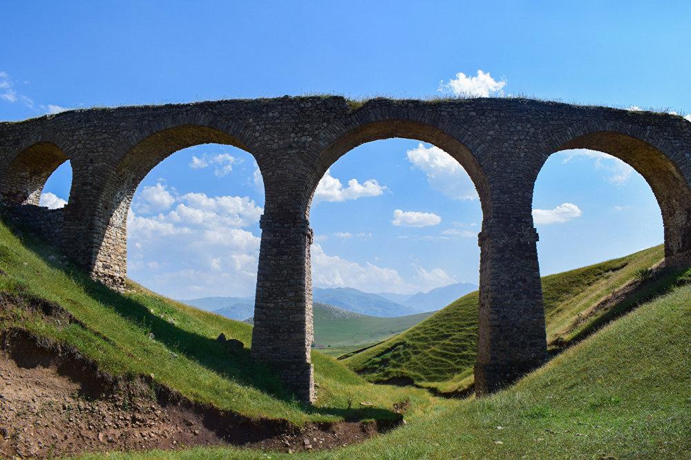 پل خونین در گدابای جمهوری آذربایجان